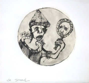 Emmanuelle renard lithographie